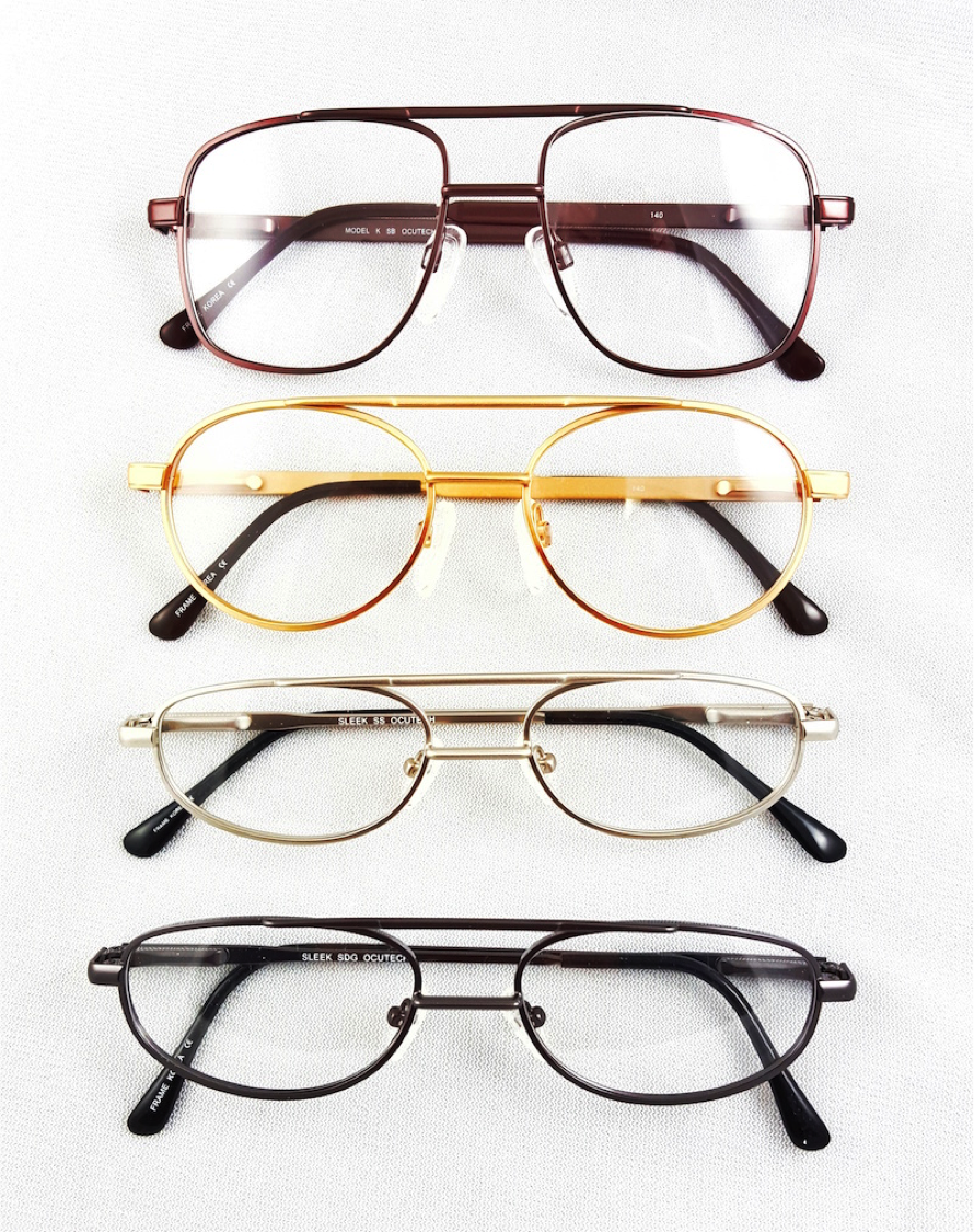 Ocutech offers several styles of frames