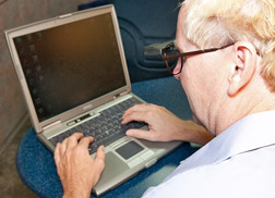 Often computer users find a bioptic more convenient than using screen magnifiers or strong reading glasses.