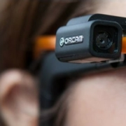 photo of person wearing orcam